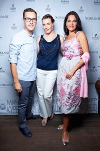 Dima Fedorov, Maria Tarasevich and Nina Shatskaya