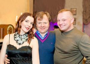 Maria Tarasevich, Igor Butman and Kirill Gusev
