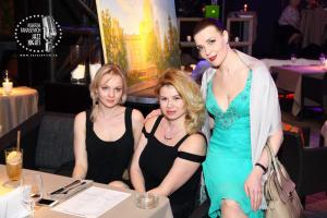 Anna Shahray with Irina Grigorieva and Maria Tarasevich
