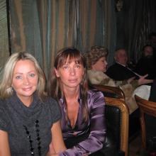 Ирина Смородская и Ирина Летягина