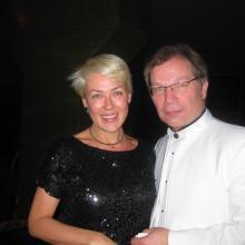 Tatiana Emsone and Yuri Rozum