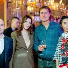Alexey Gubkin with Maria Tarasevich, Kirill Grebenschikov and Valerya Lero