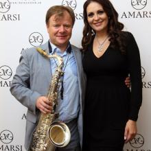 Anna Perera with Igor Butman