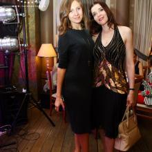 Ekaterina Altuhova with Maria Tarasevich
