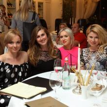 Anna Shahray, Irina Grigorieva with friends