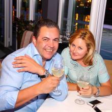 Yosif Batoshvilli with wife