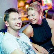 Oleg Sharpatiy with friend