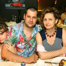 Larisa Boldareva with family