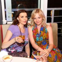 Masha Tarasevich and Anna Shahray