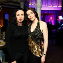 Olesya Sherbak with Maria Tarasevich