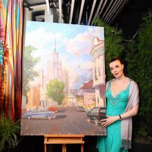 Masha Tatasevich & Art by Daniil Federov