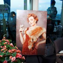 Retro Art Exhibition by Irina Minina