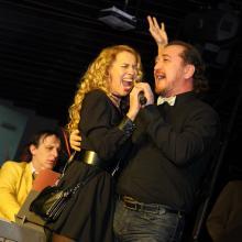 Veronika Danilova and Ruslan Karachurin