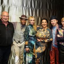 Ty Stepens, Diana Dikovsky, Oleg and Natalia Butman