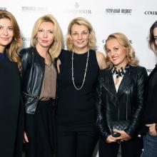 Olga Simanova with guests