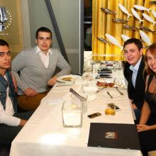 Veronika Danilova with friends