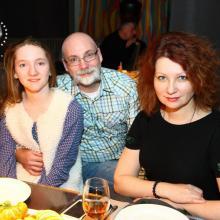 Ilya Polishuk with family
