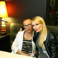 Irena Fillipova with friend