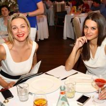 Maria Kniazeva with friend