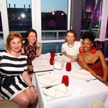 Karina Merabova with friends