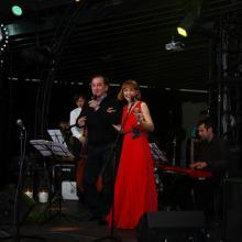 Ruslan Karachurin with Anna Buturlina