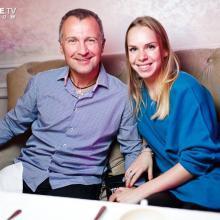 Konstantin Beliakov with friend