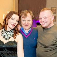 Maria Tarasevich, Igor Butman and Kirill Gusev