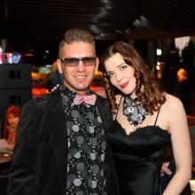 Alex Che with Maria Tarasevich