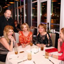 Alex Grinberg, Irina Grigorieva with friends