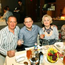 Guests of the restaurant