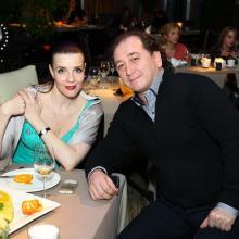 Ruslan Karachurin with Masha Tarasevich