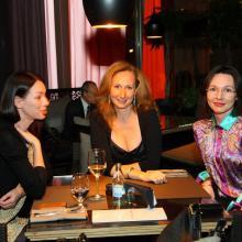 Elena Boas with Larisa Semenuk