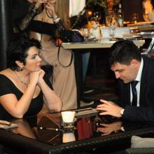 Amaria Ray with husband