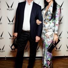 Evgenia Eremina with husband