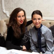 Ekateriina Kazakova with Julia Kaydarova