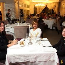 Anna Smirnova with friends
