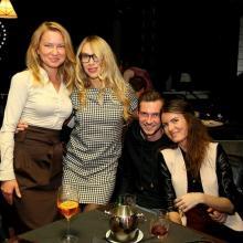 Veronika Danolova with friens