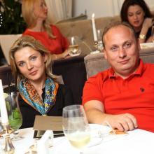 Helen Bliznuk with husband
