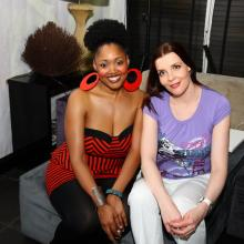 Mavis Swan Poole with Masha Tarasevich