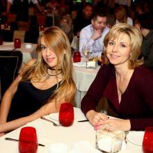 Veronika Danilova with Larisa Pirogova
