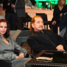 Anna Daeva with Ruslan Karachurin