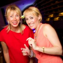 Tatiana Selezniova with friend