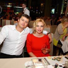 Roman Goncharov with Natalia Torik