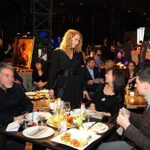 Artem Troitskiy with wife and Veronika Danilova