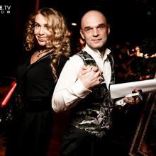Veronika Danilova and Dimitri Peretz