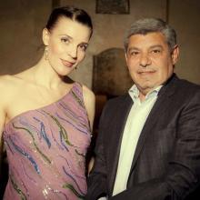 Alexander Atanesyan with Masha Tarasevich