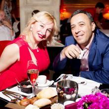 Karina Merabova with friend