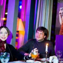Irina Minina with Konstantin Senyagovskiy