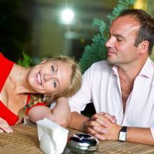 Anna Starih with husband