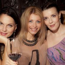 Nina Shatskaya, Basinya Shulman, Maria Tarasevich